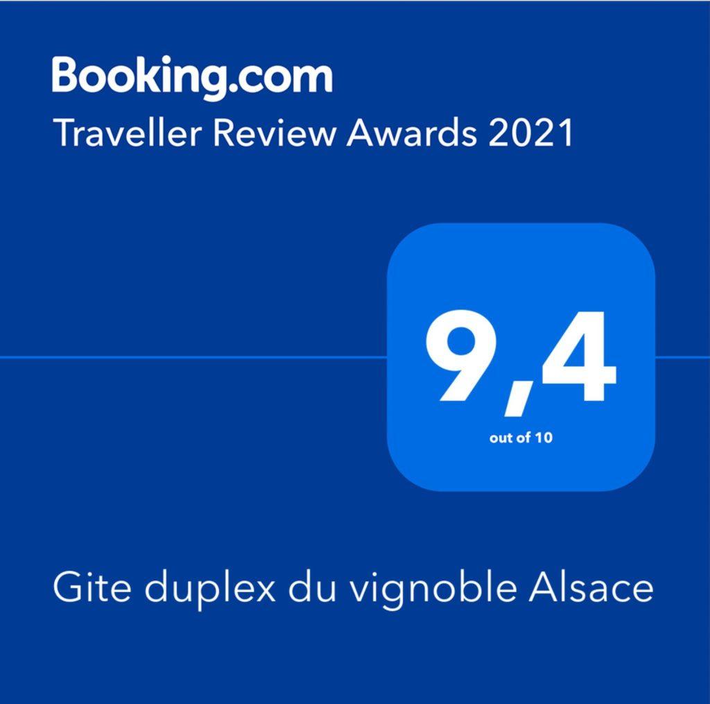 Gite Homedemeure 68 Rouffach - Review Awards 2021